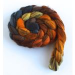 Fire Pit - Mixed BFL Wool Roving