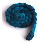 Aqua Dusk on Polwarth/Silk Roving2
