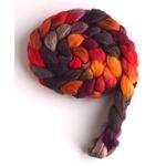 Autumn Spectacular on Merino/ Silk