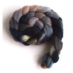 Rocks and Sand on Targhee Wool Roving