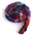 Late Winter Sunset - BFL Wool Roving-2