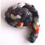 Night Flare on Corriedale Wool Roving