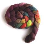 Moody Hues on BFL Wool Roving