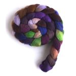 Night Charm - Falkland Wool Roving-2