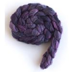 Violet Shadows - Polwarth/Silk 60/40 Roving-2