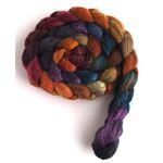 African Sunset - Polwarth/Silk Roving-4