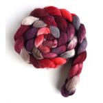 Merino/ Silk Roving (Top) - Hand Painted Spinnin-4