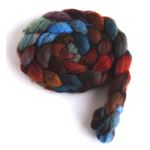 Flannel Shirt on Mixed BFL Wool Roving