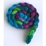 Cool Storm - Polwarth/Silk 60/40 Roving-4
