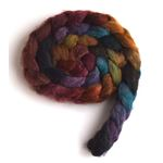 African Sunset on Mixed BFL/Silk