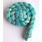 Sea Glass Tonal - Polwarth/Silk 60/40 Roving-4