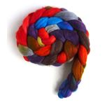 Zinnias During Dusk - Merino Wool Roving S-Fine
