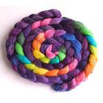 Tour de Fleece, Flag Violet on Polwarth/Silk
