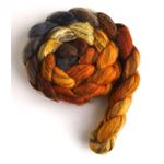 Fire Pit - Mixed BFL Wool Roving-4