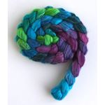 Cool Storm - Polwarth/Silk 60/40 Roving-2