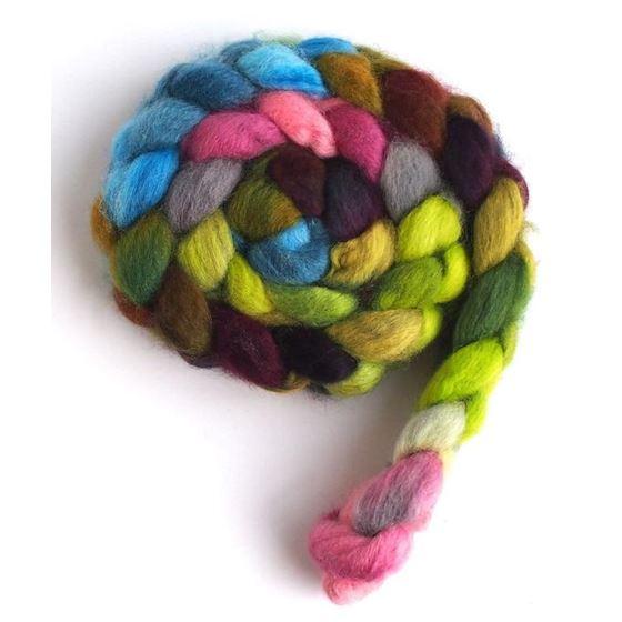 Circular Guarantee - BFL Wool Spining Roving-4