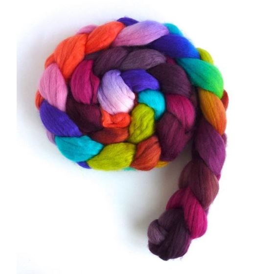 Piske Bagwash - Rambouillet Wool Roving-2