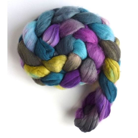 Memory Lane - Targhee Superwaswh Wool Roving-2