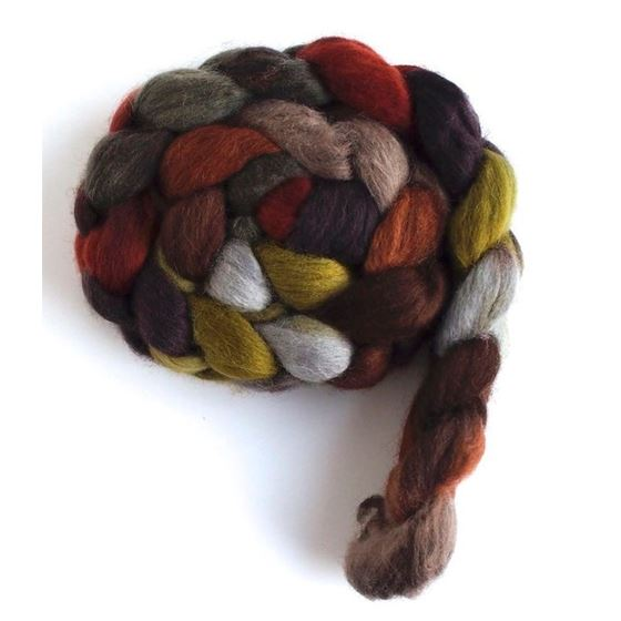 Corduroys with Bootsrs on Corriedale Wool Roving-4