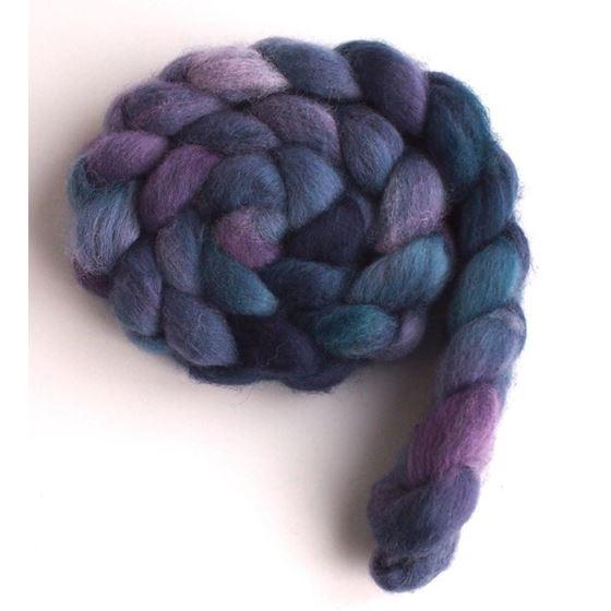 Blueberry Liqueur on Falkland Wool 2