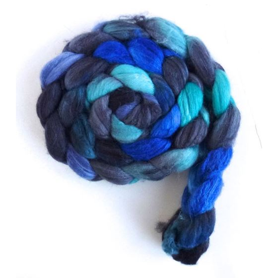 Merino/ Superwash Merino/ Silk Roving (Top) - Ha-4
