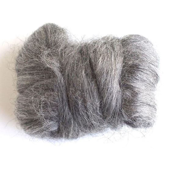 ECRU, Gotland Wool Roving
