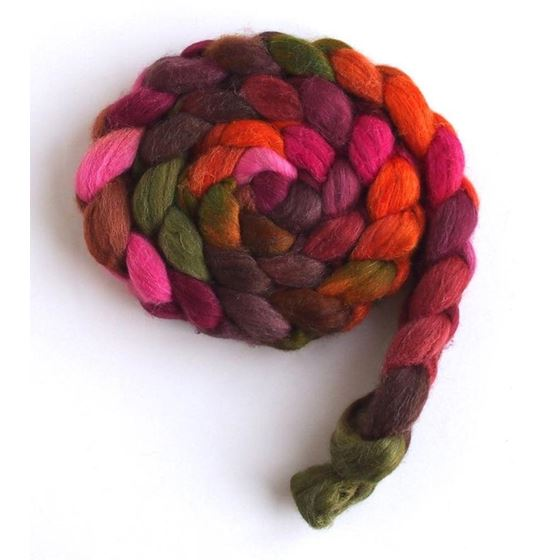 Living Color on Merino/ Silk Roving2
