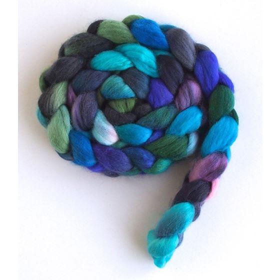 Petals in the Rain - Finn Wool Roving-4