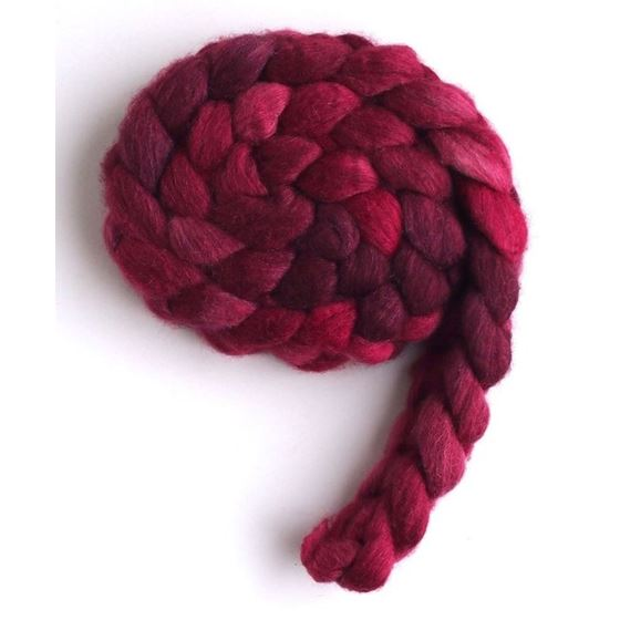 Dark Sweet Cherries, Merino/ SW Merino/ Silk-2