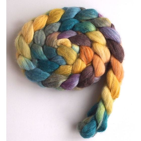 Muted Reflections on Polwarth/Silk