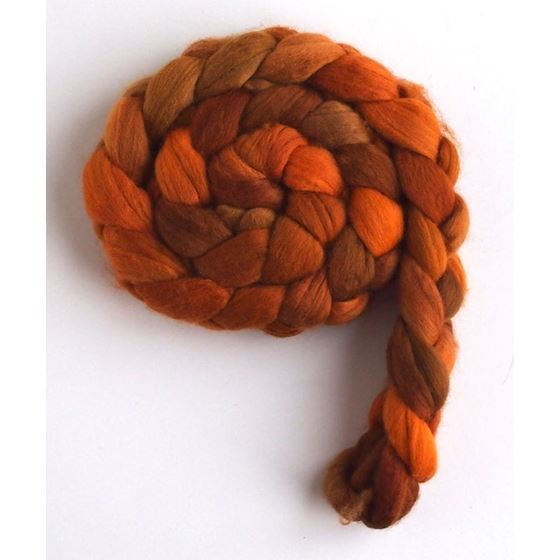 Orange Shades on Merino Wool2