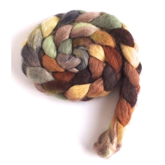 Sheep in the Field on BFL Wool