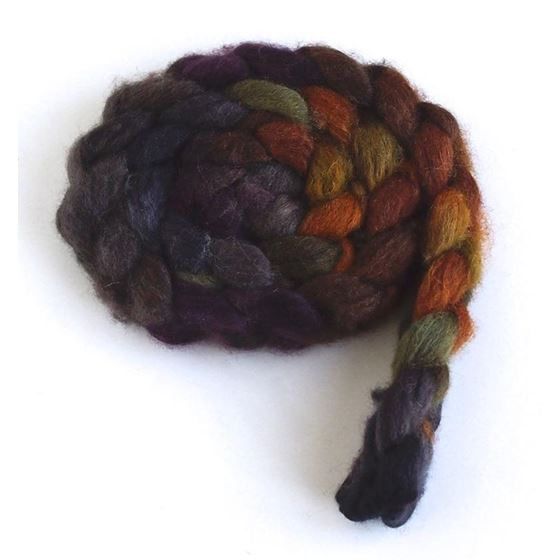 Falling Again on Polwarth/Silk Roving