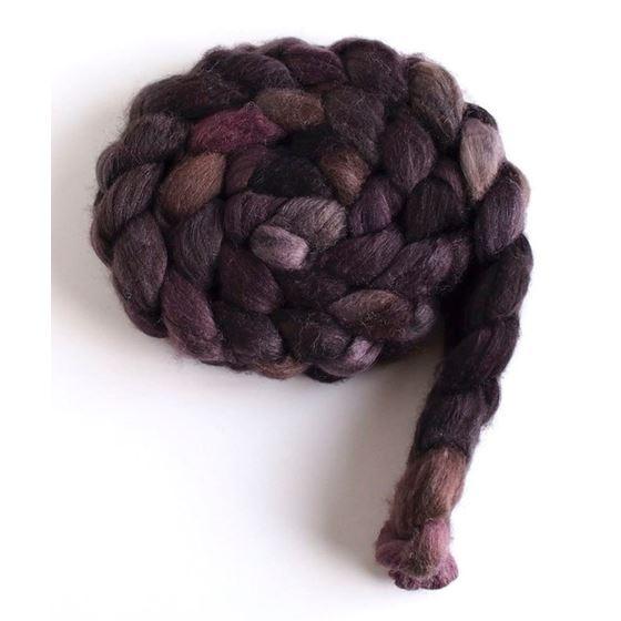 Stacked Cedar, Merino/ SW Merino/ Silk Roving-4