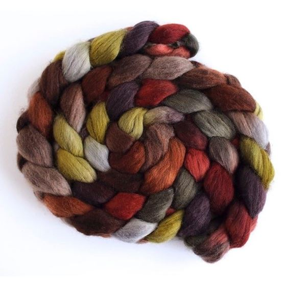 Corduroys with Bootsrs on Corriedale Wool Roving