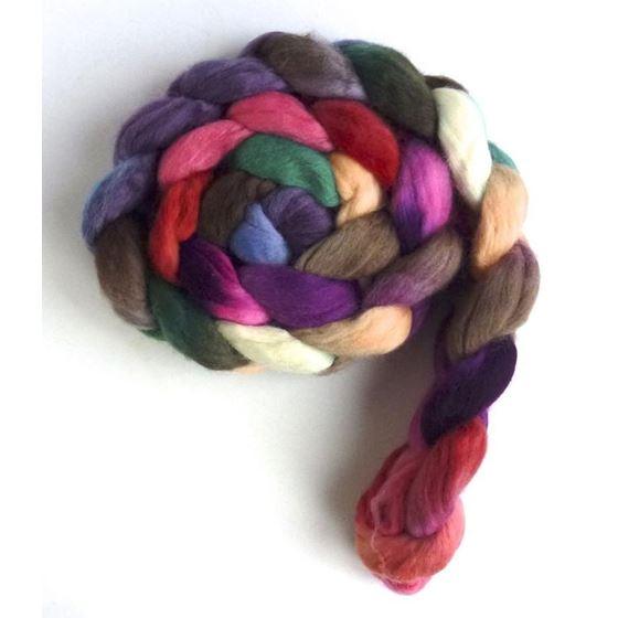 Peachy Keen - Finn Wool Roving