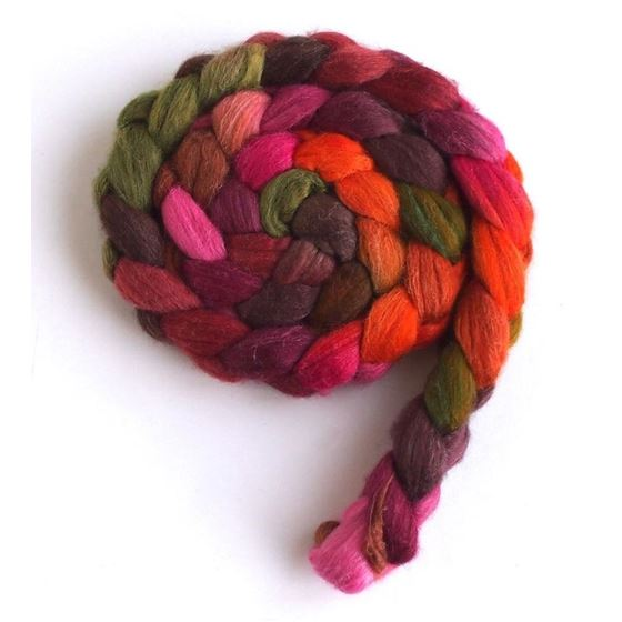 Living Color on Merino/ Silk Roving4