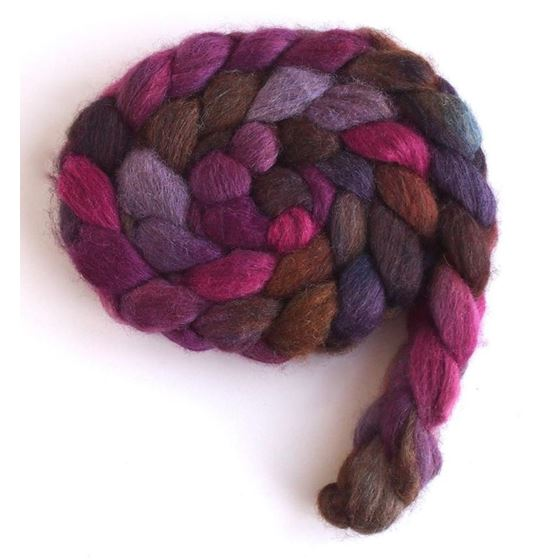 The Gloaming on Mixed BFL/Silk Roving