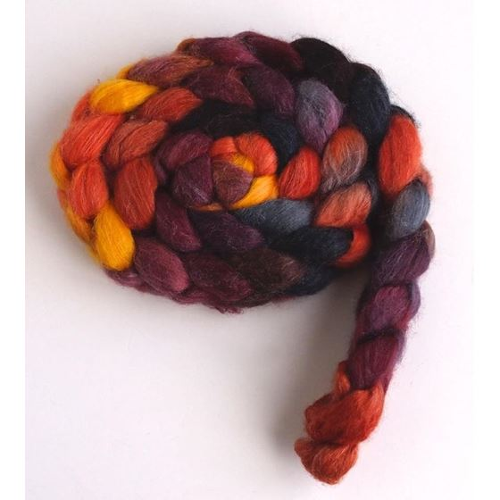 Sloss Furnace on Polwarth/Silk Roving