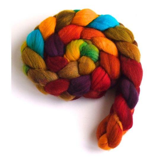 Summer Palette on Rambouillet Wool