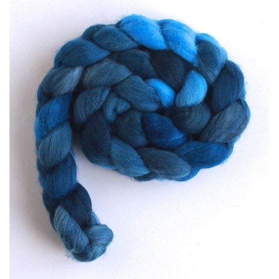 Tour de Fleece - Riveting Blue on Rambouillet