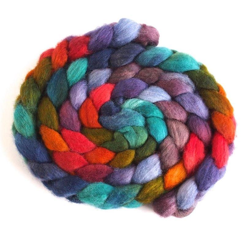 Multifarious Ruse on BFL Wool Roving
