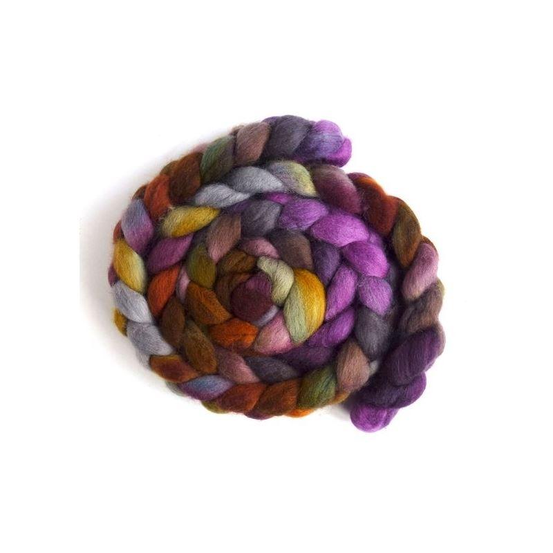 Shimmering Dusk - Falkland Wool Roving-1
