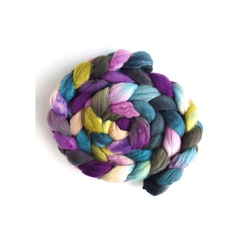 Memory Lane - Targhee Superwaswh Wool Roving-1