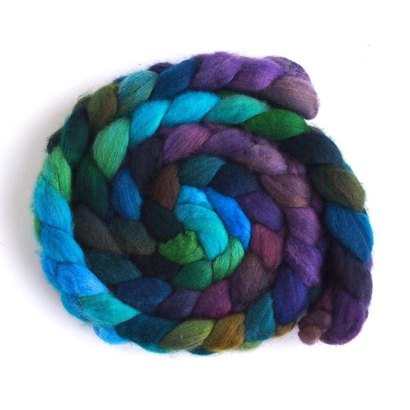 OOAK-4 - Falkland Wool Roving-1