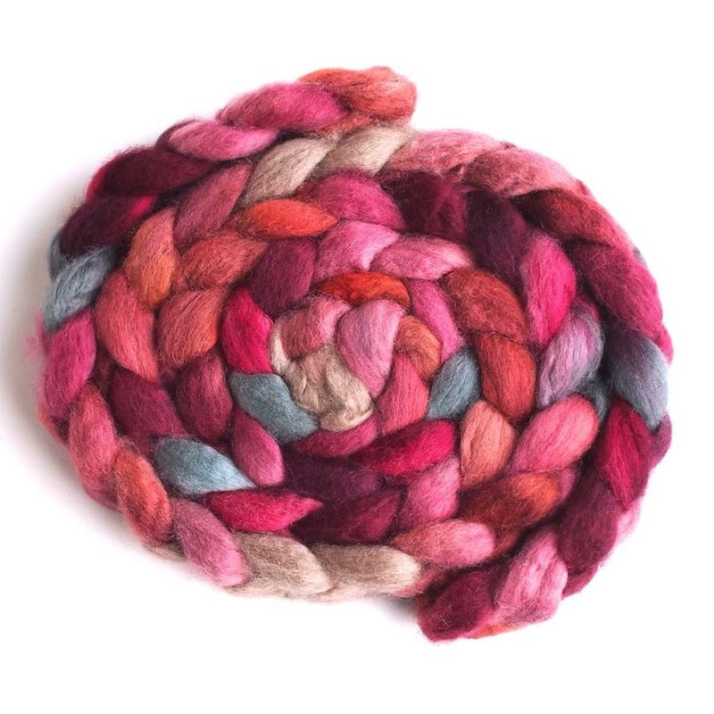 Song in Thirds on BFL Wool Roving