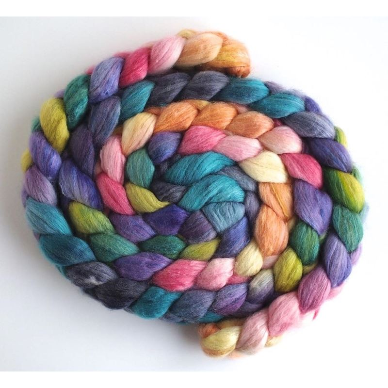Spring Faster on Organic Polwarth/Cultivated Silk