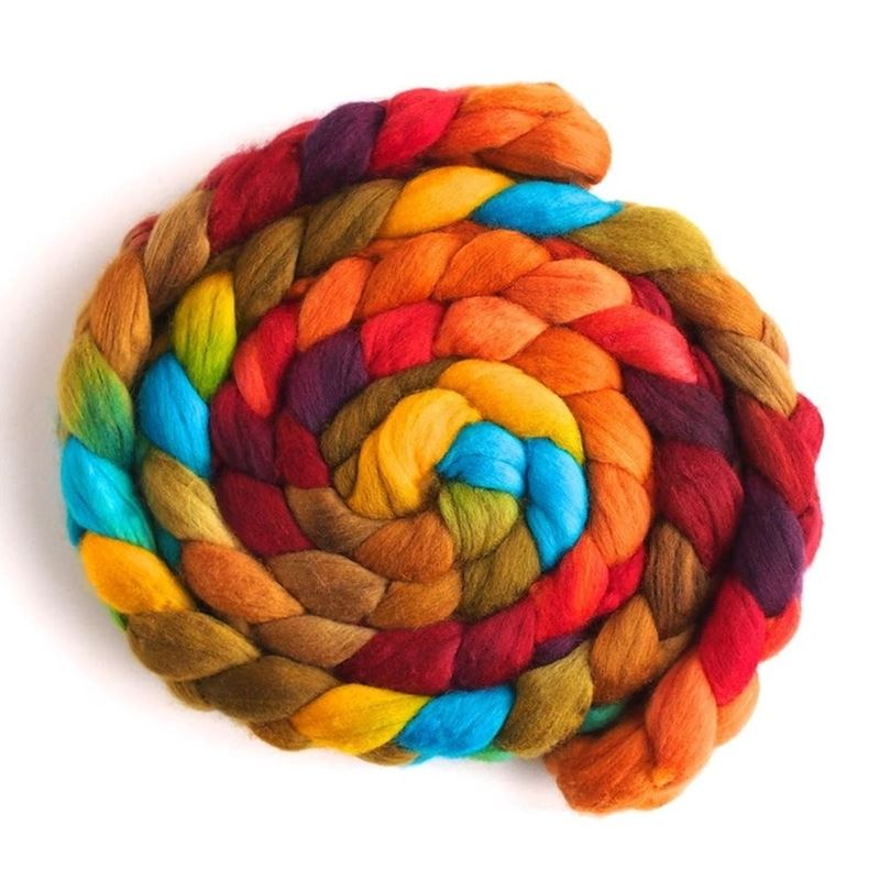 Summer Palette on Merino Wool1