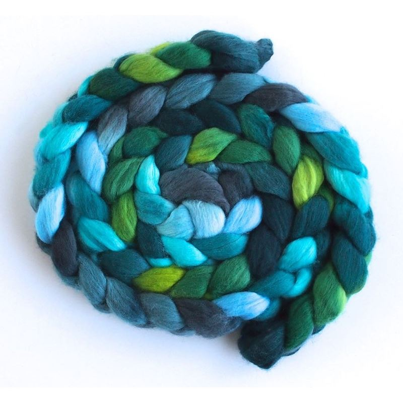 Forested Hills - Merino Wool Roving-1