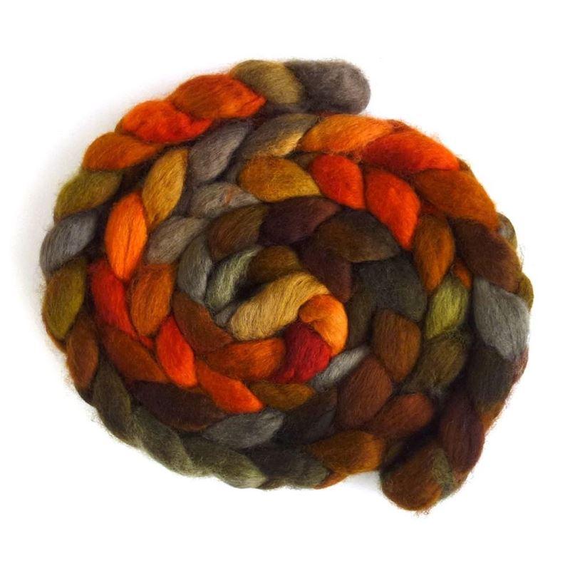 Autumn Splendor - BFL Wool Spinning Roving-1
